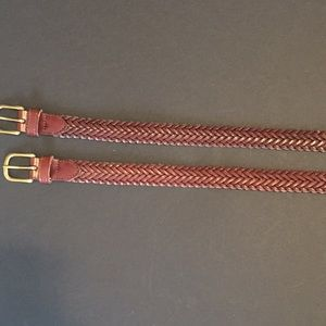 Ralph Lauren Leather braided belt
